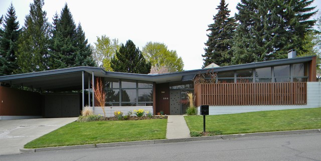 enchanting rural mid century modern midcentury bedroom seattle | Rural Mid-Century Modern - Midcentury - Exterior - Seattle ...