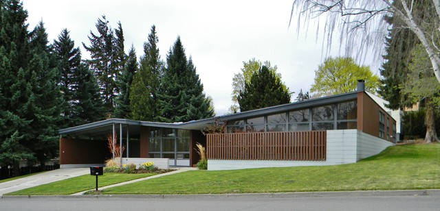 Rural Mid Century Modern Midcentury Exterior Seattle By