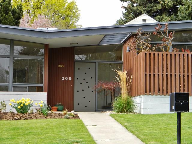 Rural Mid Century Modern Midcentury Exterior Seattle By