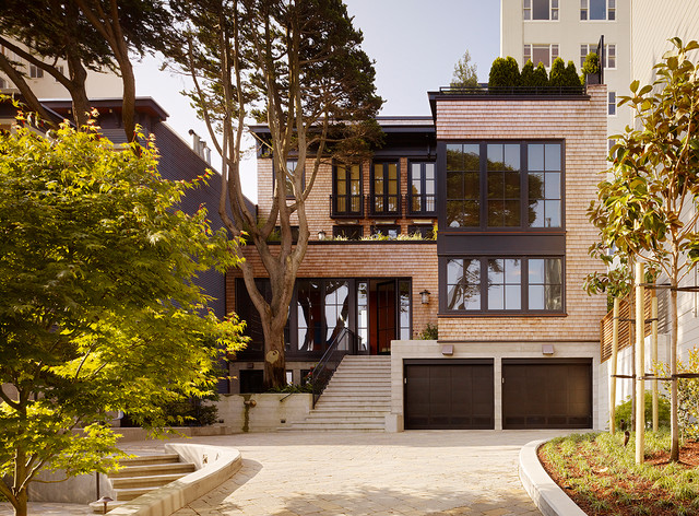 Russian Hill Residence Contemporary Exterior San