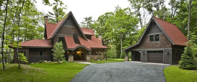 Rustic Cabin rustic-exterior