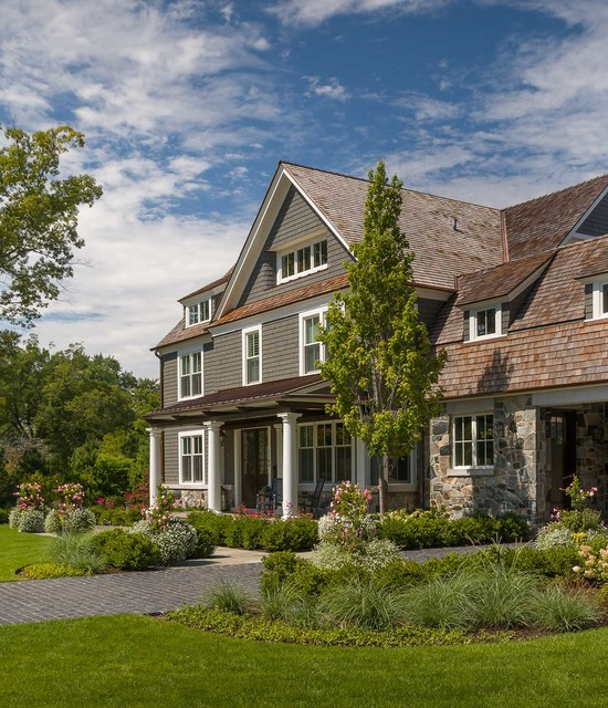 Landscape Lighting Northbrook: Rustic Chic New Construction