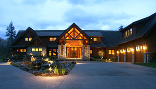North Bend Rustic Exterior Seattle By Studio 29