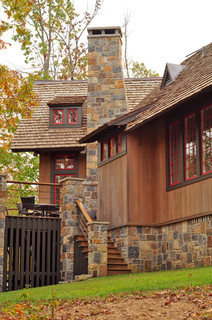 Day Exterior Rustic Exterior Birmingham By Jeffrey Dungan Architects
