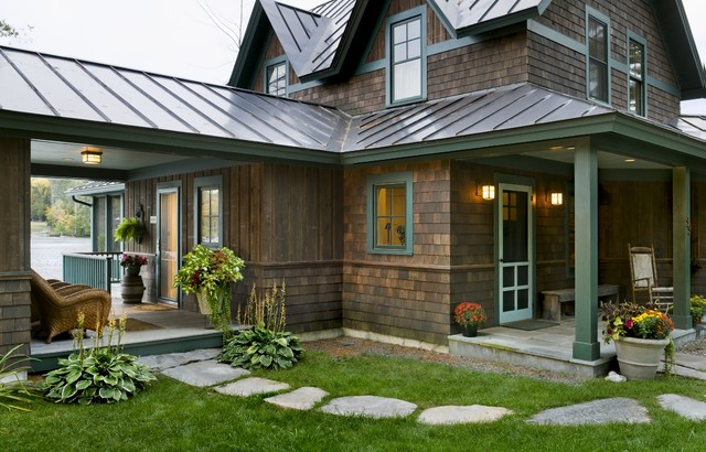 Lake House rustic exterior