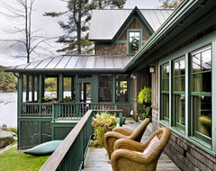 Lake House rustic-exterior