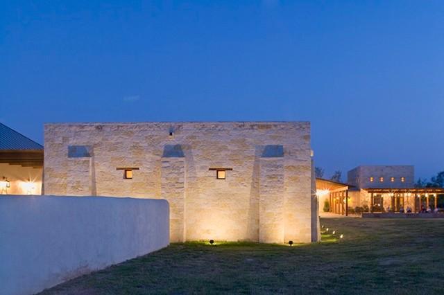Rustic Hacienda Style Texas Ranch Southwestern