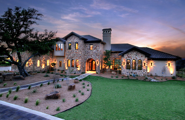 Rustic Hill Country Elegance By Zbranek Holt Custom