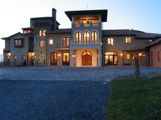 Rustic Italian Masterpiece mediterranean-exterior