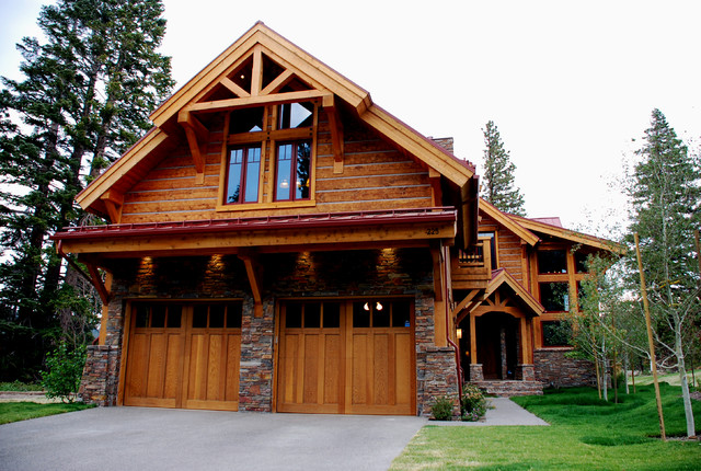 Rustic Living Rustic Exterior Other Metro By