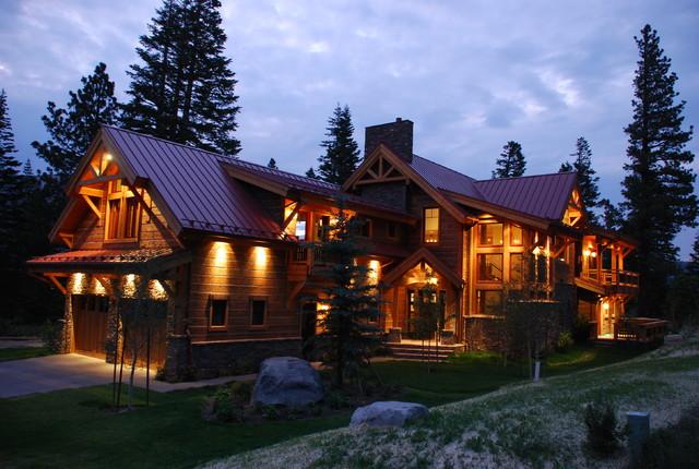 rustic living rustic exterior - Rustic Home Designs