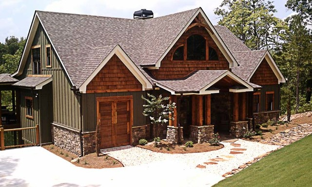 Rustic Mountain House By Max Fulbright