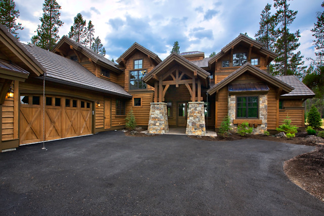 Rustic Mountain House Plan 9069 Rustic Exterior New York