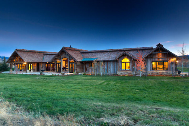 Rustic Ranch Home Exterior Other Metro By