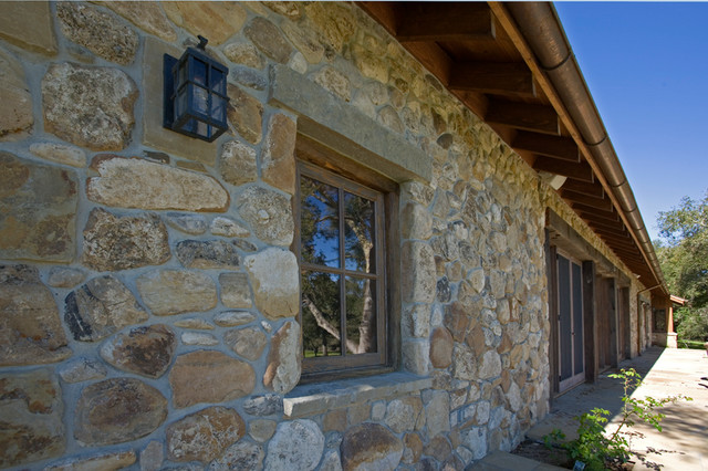 Rustic Stone Work Rustic Exterior San Francisco By