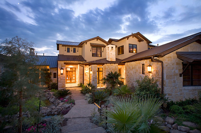 Rustic Westlake Elegance Contemporary Exterior Other Metro By Eppright Custom Homes