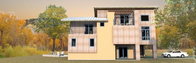 S4- TCI Lane Ranch contemporary-exterior