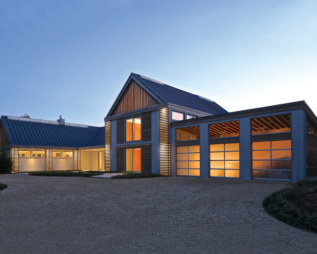 Sagaponack Modern Barn Modern Exterior New York By