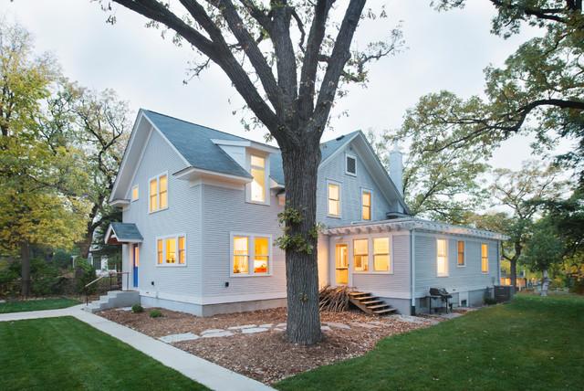 Saint Anthony Park whole house remodel farmhouse-exterior