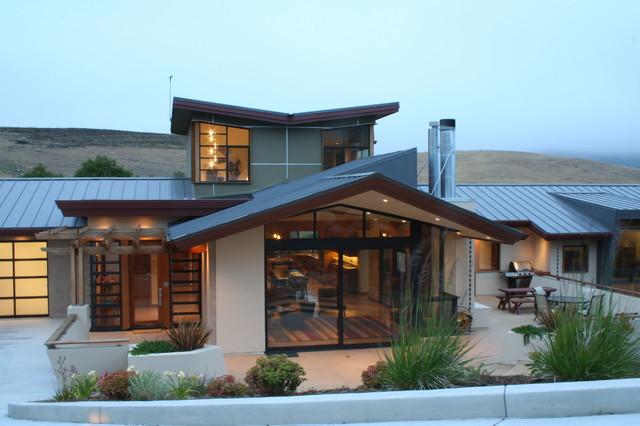 Salmon Residence contemporary-exterior