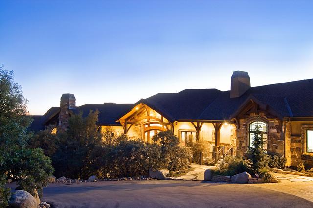 Salt Lake City, Utah Luxury Home by Markay Johnson Construction traditional-exterior
