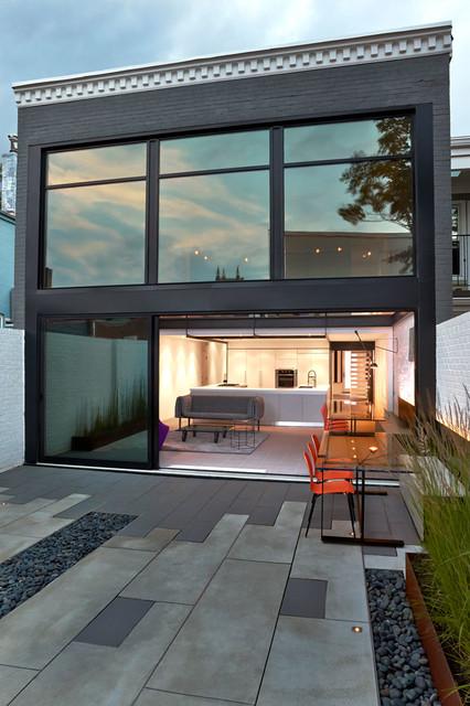 Salt + Pepper House contemporary-exterior