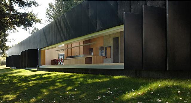 Saltspring Island - Patkau Architects modern-exterior