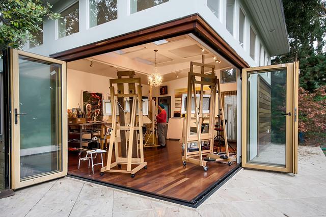 San francisco bay area artist studio contemporary for Art studio plans