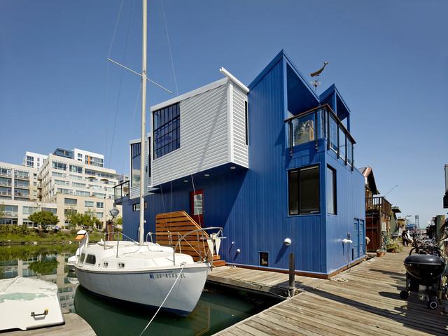 San Francisco Floating House beach-style-exterior