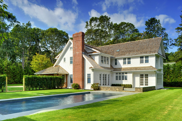 Sands Point Shingle Style traditional-exterior