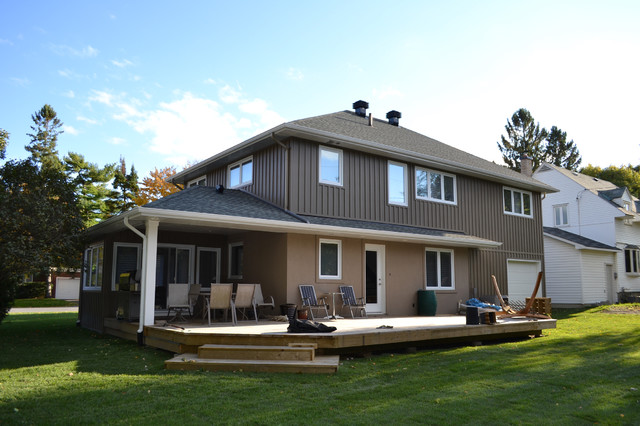 Sanford project traditional exterior ottawa by for Exterior by design ottawa