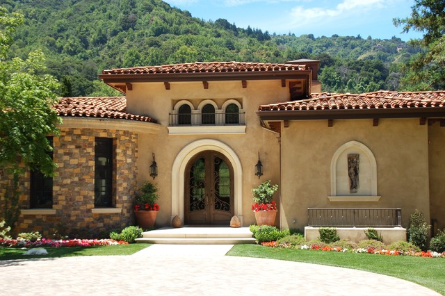 Santa Barbara/Mediterranean Style Mediterranean Exterior