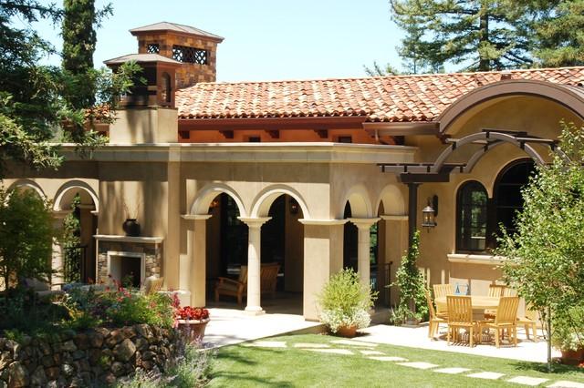 Santa barbara mediterranean style mediterranean for Santa barbara style house plans
