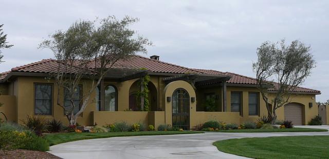 Santa Barbara Style Custom Home Mediterranean Exterior