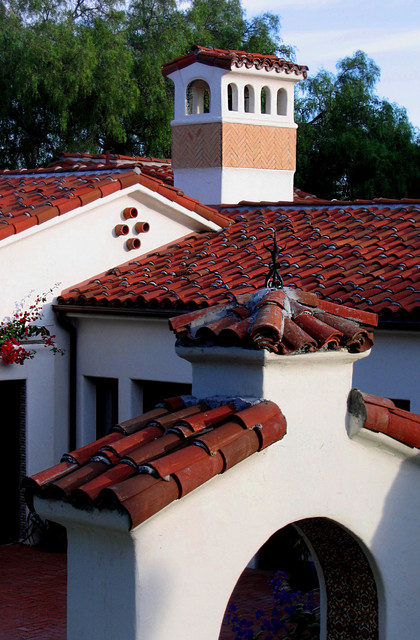 Santa Barbara Style Spanish Architecture At Casa Corazon