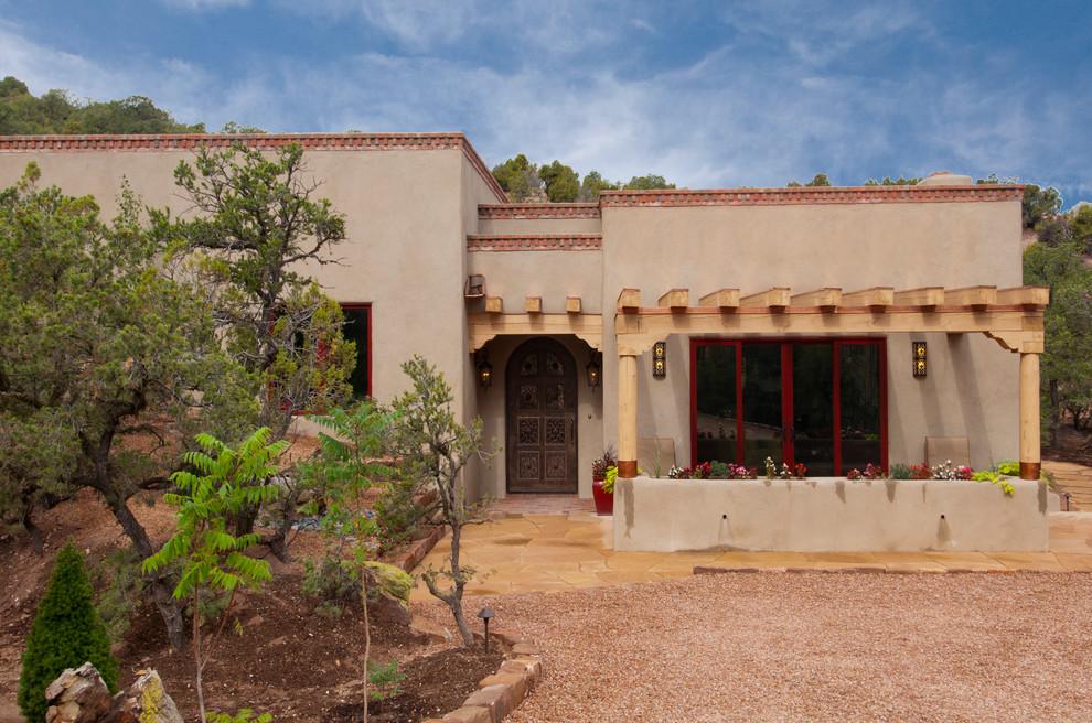 Santa Fe Guest House Southwestern Exterior