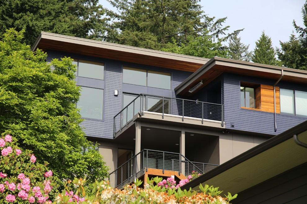 Trendy exterior home photo in Portland