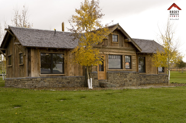 Sapphire River Ranch Rustic Exterior Other Metro
