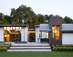 Saratoga Creek House contemporary-exterior