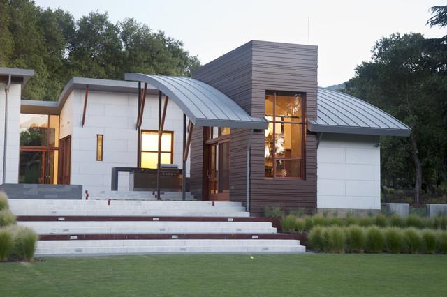 Saratoga Creek House Contemporary Exterior San