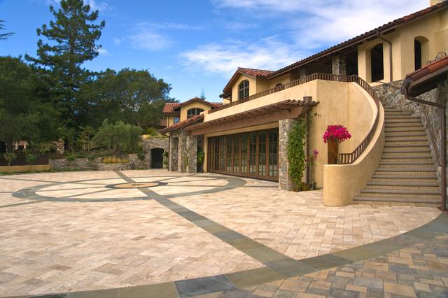 Saratoga Estate mediterranean-exterior