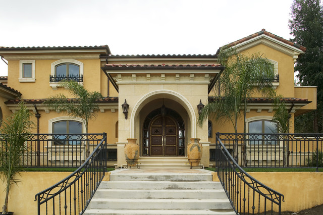Saratoga mediterranean custom home Mediterranean custom homes