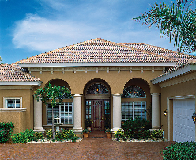 Sater Design Collection 39 S 6756 Kinsey Home Plan Mediterranean Exterior Miami By Sater