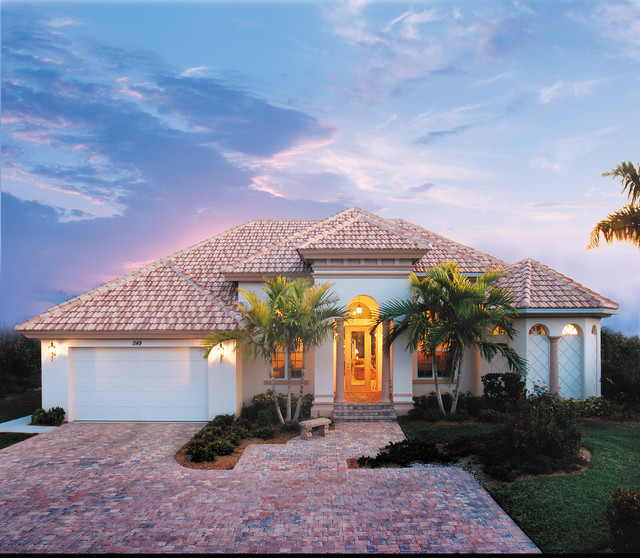 Contemporary With High Ceilings Open Floor Plans together with Southern California House Styles also Two Master Suite Home Plans additionally Mediterranean Revival House Plans further Five Bedroom House Plans One Story. on california house styles living with flair casual chic and fort