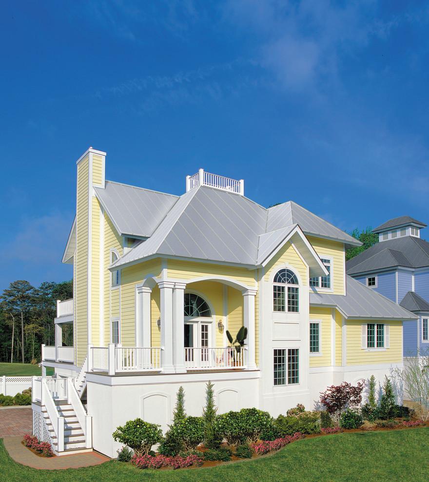 """The Sater Design Collection sater design collection's 6840 """"aruba bay"""" home plan - beach"""