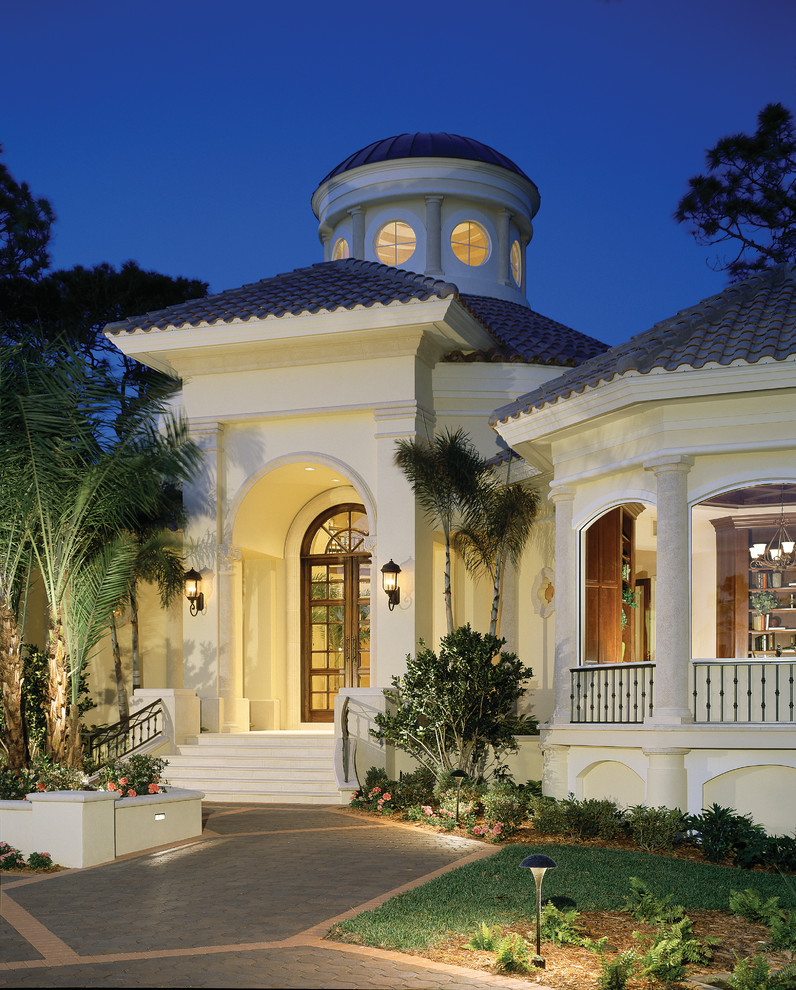 """The Sater Design Collection sater design collection's 6922 """"prestonwood"""" home plan"""