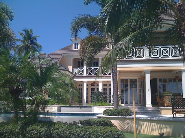 Sater Group custom home design - Tropical - Exterior - Miami - by ...