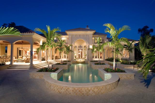 Sater Group's Cordillera Custom Home Plan Mediterranean Gorgeous Miami Home Design Exterior