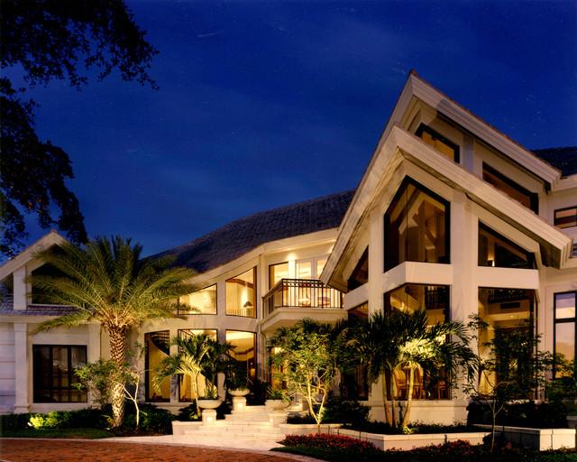 Sater Group's Valli Custom Home Design Contemporary Mesmerizing Miami Home Design Exterior