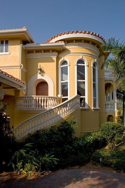 Sater Groups Villoresi Custom Home Design Mediterranean Exterior Miami on Sater Home Designs Living Rooms Images